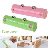 Bathroom supplies Scented Slice Sheets Paper Soap Travel Portable Soap Tablets