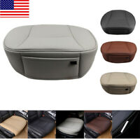 Auto Car PU Leather Front Seat Cover Half/Full Surround Chair Cushion Mat Pad US