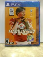 Madden NFL 20 (Sony PlayStation 4, 2019) PS4 Brand New- FREE SHIPPING !