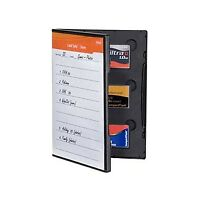 Gepe Card Safe Store - for Six CF Compact Flash Cards (Black) 3020