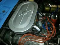 Sunbeam Tiger Reproduction Air Cleaner housing two piece unpainted