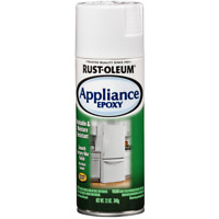 Rust-Oleum Spray Paint 12 oz. Touch Up Appliance Epoxy Gloss White Finish