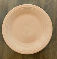 "10-12"" DINNER PLATE APRICOT PEACH COLOR HOMER LAUGHLIN FIESTA WARE"