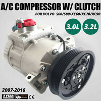 For Volvo XC70 XC90 & Land Rover 68675 A/C AC Compressor w/ Clutch CO 11323C