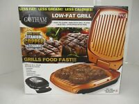 AS SEEN ON TV GOTHAM STEEL LOW-FAT GRILL  AP 4154