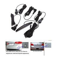 Auto 4 OEM Parking Sensors Car Parking Reverse Backup Radar System + Sound Alert