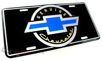 NEW!!! GENUINE CHEVROLET BOWTIE LICENSE PLATE ALUMINUM METAL AUTO/CAR/TRUCK TAG