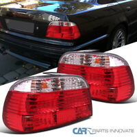 BMW 95-01 E38 7-Series 740i 740iL 750iL Tail Lights Rear Brake Lamps Red Clear