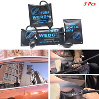 3x Automotive Pump Wedge Alignment Inflatable Shim Air Powerful Hand Entry Tools