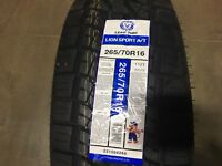 4 New 265 70 16 Lionsport AT  TIRES 70R16 R16 70R Truck/Cuv/Suv Use