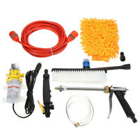 DC12V High Pressure Car Washer Cleaner Water Wash Pump Sprayer Kit Tool 160PSI