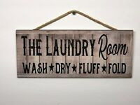 Laundry Room Wooden Wall Sign, Home, Office, House, Gift, Decoration P112