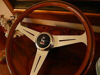 Sunbeam Alpine Tiger Wood Steering Wheel Nardi 15.3