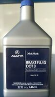 Genuine OEM Honda Brake Fluid Quart Size - 32 OZ DOT 3 08798-9108