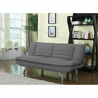 Coaster Home Furnishings Living Room Sofa Bed, Grey