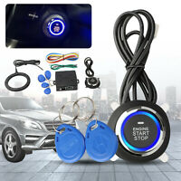 Start Push Button Remote Starter Keyless Entry Car SUV Alarm System Engine 12V