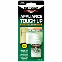 Rust-Oleum 213174 .6-Ounce Specialty Brush Bottle Appliance Touch Up, Black