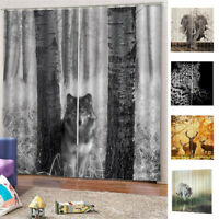 Curtain Creative Bedroom Living Room Animal Pattern Window Shading Supplies Hot