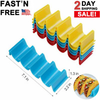 6 Pack Food Rack Tray Stacks Shell Holder Equipment Kitchen Home Goods Stand