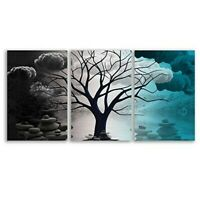 wall26 Canvas Wall Art Abstract Cloud Tree Pictures Home Wall Decorations for Be