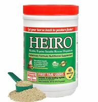 Heiro Healthy Equine Horse Insulin Resistant Rescue Organicals 40 Day Supply and