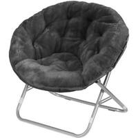Oversized Moon Chair Seat Stool Saucer Soft Folding Home Living Room Sofa NEW