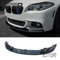 Front Lip Spoiler Kit for BMW F10 M Sport 2011-2016 5 Series Carbon Fiber Style