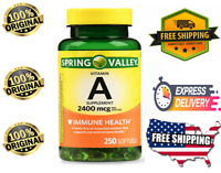 VITAMIN A SOFTGELS 2400 mcg   IMMUNE HEALTH  250 Softgels  FAST SHIPPING