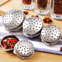 Seasoning Box Stainless Steel Soup Ball Kitchen Gadget Home Kitchen DiningEA