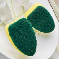 Kitchen Cleaning Supplies Brushing Sponge Pot or Brush Detachable Handle Cleaner
