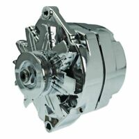 CHROME 100 AMP SELF EXCITING ALTERNATOR FOR GM ONE 1 WIRE