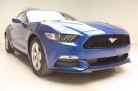 2017 Ford Mustang V6 Coupe 2-Door 2017 Black Cloth Bluetooth Rear Camera V6 TIVCT Vernon Auto Group