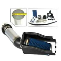 Heat Shield Cold Air Intake+Filter for 99-03 Ford F250 F350 Super Duty 7.3L Blue