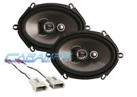 NEW SOUNDSTREAM 3-WAY CAR/TRUCK STEREO FRONT OR REAR SPEAKERS W SPEAKER WIRING