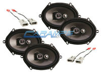 NEW SOUNDSTREAM 3-WAY CAR/TRUCK FRONT AND REAR AUDIO SPEAKERS W SPEAKER WIRING