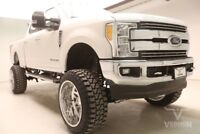 2017 Ford F-250  2017 Navigation Sunroof 20s Aluminum Leather Heated Cooled Bluetooth V8 Diesel