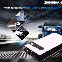 20000mAh Jump Starter Car Battery Charger Power Bank Booster Light 12V Portable