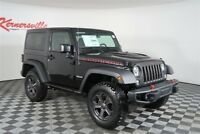 Jeep Wrangler Rubicon Recon 4WD V6 SUV Heated Leather Seats Navigation 2018 Jeep Wrangler JK Rubicon Recon 4WD V6 SUV Heated Leather Seats Navigation