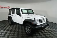 Jeep Wrangler Rubicon 4WD V6 SUV Soft Top Roof Keyless Entry 2018 Jeep Wrangler JK Unlimited Rubicon 4WD V6 SUV Soft Top Keyless Entry