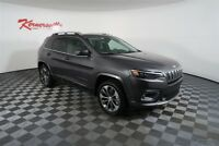 Jeep Cherokee Overland 4WD V6 SUV Panoramic Sunroof Backup Camera Navigation New 2019 Jeep Cherokee Overland 4WD V6 SUV Pano Sunroof Backup Camera Navigation
