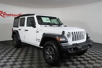 Jeep Wrangler Sport 4WD V6 SUV Backup Camera Keyless Entry 2018 Jeep Wrangler Unlimited Sport 4WD V