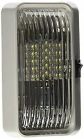Diamond Group 52723 Clear Led Porch Light With On/off Switch