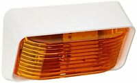 Diamond Group 52726 Led Porch Light With Amber Lens