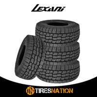 (4) New Lexani TERRAIN BEAST AT 275/60R20 119H XL All Terrain Performance Tires