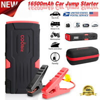 New Bolt Power D11 600 Amp Peak With 16500mAh Car Battery RD+BK Jump Starter USA