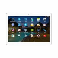 Android Tablet 10 Zoll 3G entsperrt Phablet Octa Core Android(Silber)
