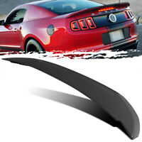 For 10-14 Ford Mustang Shelby GT500 Style Unpainted Trunk Deck Lid Spoiler Wing