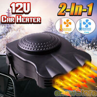 Car Heater Vehicle 3-Outlet 2 in1 Portable 30S Fast Heating Defrosts Defogger US