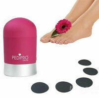 Portable Electronic Personal Pedicure Foot Care Tool Cutin Remover Callus Shaver