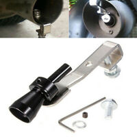 Whistle Exhaust Pipe Sounder Roar Car Auto Loud Sounds Like Turbo System Black